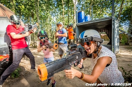 Lasertag close to Saint Jean de Monts