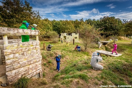 Paintball family in Vendée