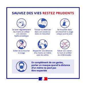 Protocole sanitaire au Grand Défi